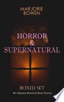 HORROR   SUPERNATURAL Boxed Set  40  Mystery Novels   Short Stories