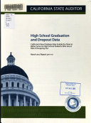 High School Graduation and Dropout Data