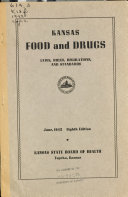 Food and Drugs Laws Book