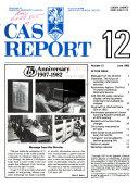 CAS Report