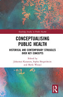 Conceptualising Public Health Book