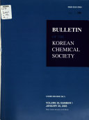 Bulletin of the Korean Chemical Society