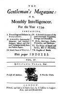 The Gentleman s Magazine  Or  Monthly Intelligencer Book