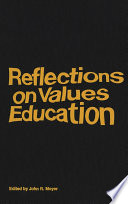 Reflections on Values Education Book