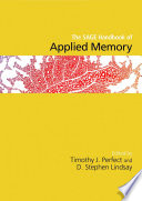 The SAGE Handbook of Applied Memory Book PDF