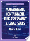Groundwater Contamination, Volume II