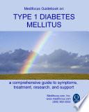 Medifocus Guidebook On  Type 1 Diabetes Mellitus