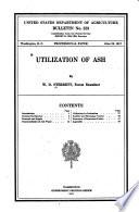 Utilization of Ash