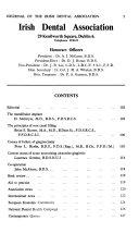 The Journal of the Irish Dental Association