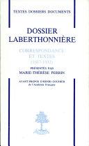 Dossier Laberthonnière