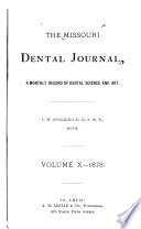 The Missouri Dental Journal