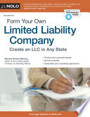 """Form Your Own Limited Liability Company: Create An LLC in Any State"" by Anthony Mancuso"