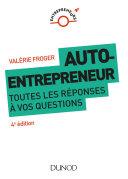 Pdf Auto-entrepreneur : toutes les réponses à vos questions - 4e éd. Telecharger