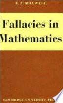Fallacies in Mathematics