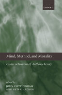 Mind  Method  and Morality