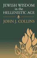 Pdf Jewish Wisdom in the Hellenistic Age