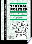 Textual Politics Discourse And Social Dynamics