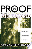 The Proof of the External World