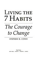 Living the 7 Habits Book