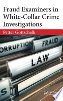 Fraud Examiners in White Collar Crime Investigations Book PDF