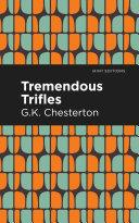 Tremendous Trifles Book