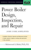 Power Boiler Design, Inspection, and Repair