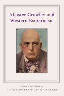 Pdf Aleister Crowley and Western Esotericism Telecharger