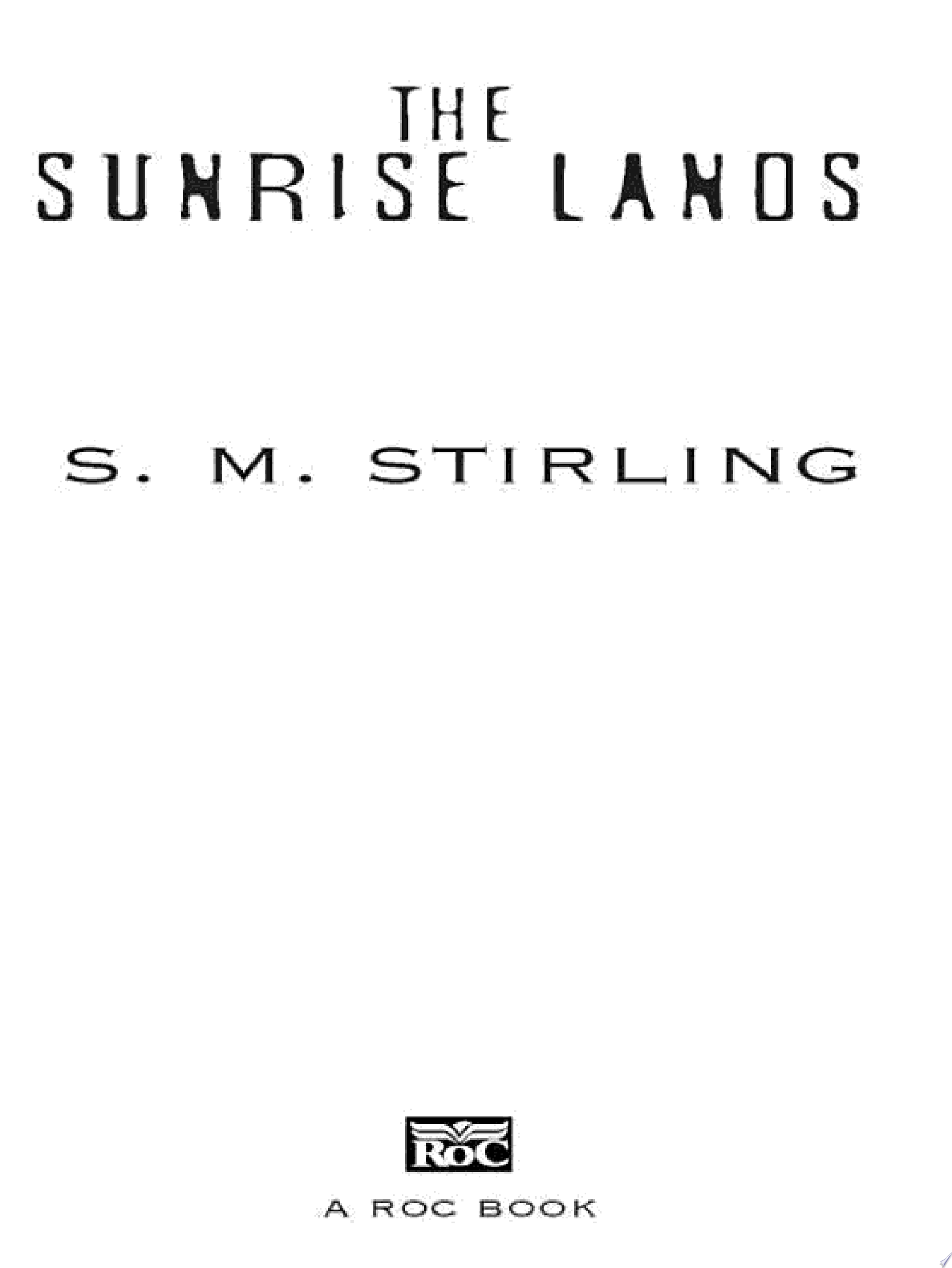 The Sunrise Lands