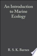 An Introduction to Marine Ecology Book