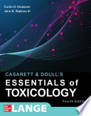 Casarett   Doull s Essentials of Toxicology  Fourth Edition Book