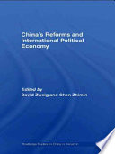 China S Reforms And International Political Economy Book PDF