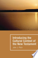 Introducing the Cultural Context of the New Testament Book PDF