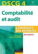 DSCG 4 - Comptabilité et audit - 2014/2015 - Corrigés