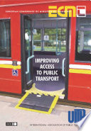 Improving Access to Public Transport Book