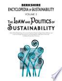 Berkshire Encyclopedia Of Sustainability 3 10