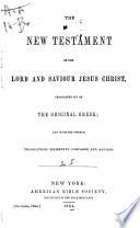 El Nuevo Testamento de Nuestro SeÆnor Jesus-Christo