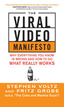 The Viral Video Manifesto: Why Everything You Know is Wrong and How to Do What Really Works Pdf/ePub eBook
