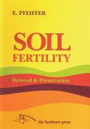 Soil Fertility  Renewal   Preservation