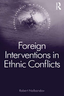 Foreign Interventions in Ethnic Conflicts Pdf/ePub eBook