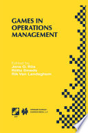 Games in Operations Management Book