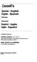Cassell s Spanish English  English Spanish Dictionary