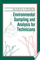 Environmental Sampling and Analysis for Technicians