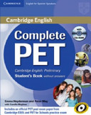 Complete PET for Spanish Speakers Student s Book Without Answers with CD ROM