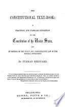 The Constitutional Text-book