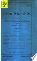 The Penn Monthly Book PDF