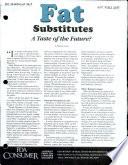 Fat Substitutes Book