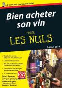 Pdf Bien acheter son vin Pour les Nuls Telecharger