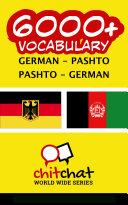 6000  German   Pashto Pashto   German Vocabulary