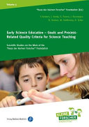 Early Science Education - Goals and Process-Related Quality