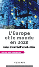 Pdf L'Europe et le monde en 2020 Telecharger
